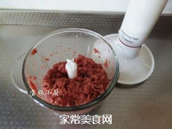 马肉馅水饺的做法步骤:3