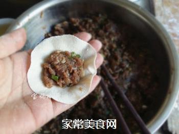 马肉馅水饺的做法步骤:9