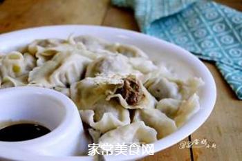 马肉馅水饺的做法步骤:12
