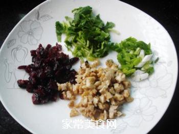 #信任之美#核桃蔓越莓小米饭的做法步骤:4