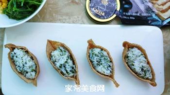 #爽口凉菜,开胃一夏!#鱼子酱小船寿司的做法图解6