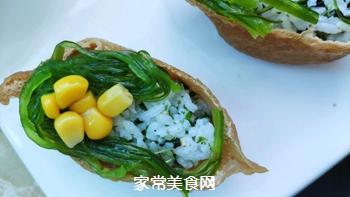 #爽口凉菜,开胃一夏!#鱼子酱小船寿司的做法图解8
