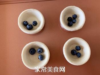 会爆浆的蓝莓蛋挞的做法图解5