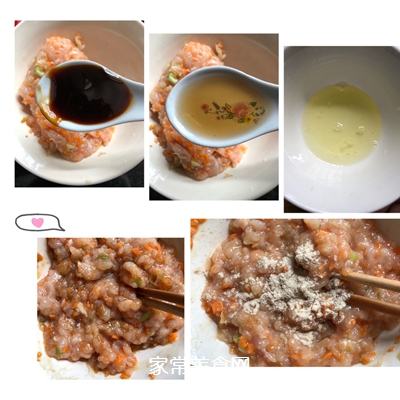 #爽口凉菜,开胃一夏!#番茄鸡肉丸的做法图解3