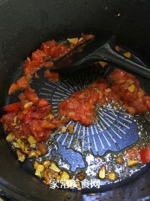 #爽口凉菜,开胃一夏!#番茄鸡肉丸的做法图解11