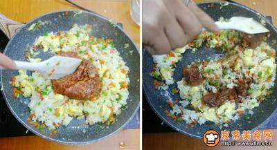 叉烧炒饭的做法图解6