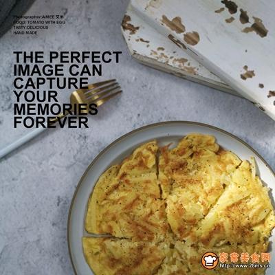 #520,美食撩动TA的心!#土豆丝鸡蛋饼的做法图解10
