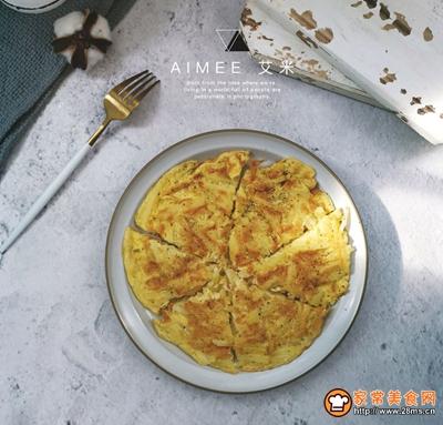#520,美食撩动TA的心!#土豆丝鸡蛋饼的做法图解11