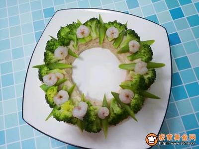 #520,美食撩动TA的心!#花环沙拉的做法图解9