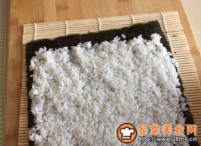 #童年不同样,美食有花样#金枪鱼寿司卷的做法图解9