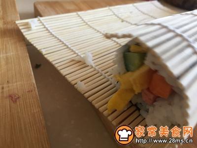 #童年不同样,美食有花样#金枪鱼寿司卷的做法图解11