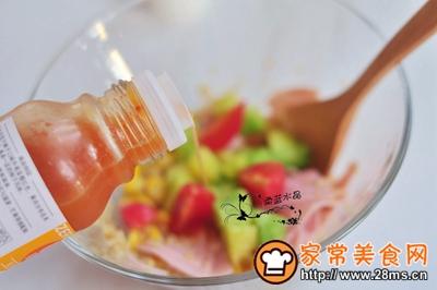 藜麦火腿水果沙拉的做法图解6