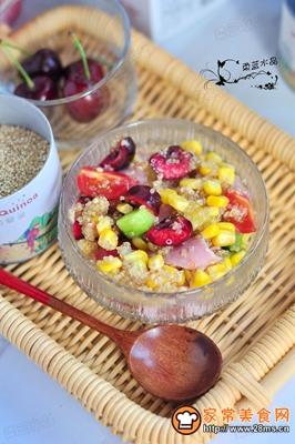 藜麦火腿水果沙拉的做法图解8