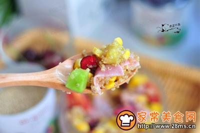 藜麦火腿水果沙拉的做法图解10
