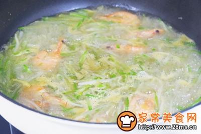 萝卜丝炖虾#童年不同样,美食有花样#的做法图解8