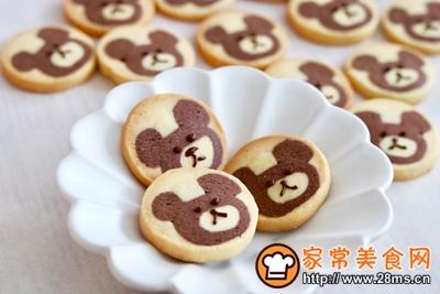 #童年不同样,美食有花样#小熊曲奇饼干的做法图解20