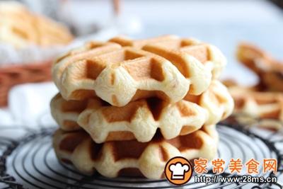 #童年不同样,美食有花样#红豆麻薯华夫饼的做法图解14