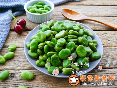 #童年不同样,美食有花样#水煮蚕豆的做法图解7