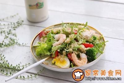 轻食主义-藜麦鸡肉蔬菜沙拉的做法图解11