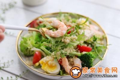 轻食主义-藜麦鸡肉蔬菜沙拉的做法图解12