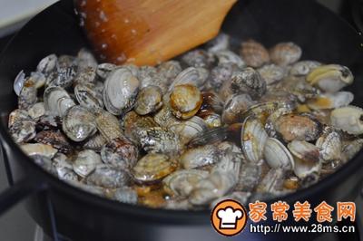大盘鸡+蒸鸡蛋+炒花蛤的做法图解16