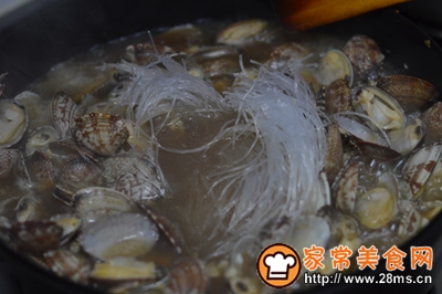 大盘鸡+蒸鸡蛋+炒花蛤的做法图解18