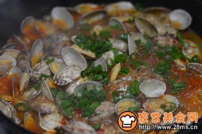 大盘鸡+蒸鸡蛋+炒花蛤的做法图解20