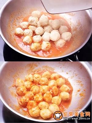 茄汁鸡肉丸的做法图解8