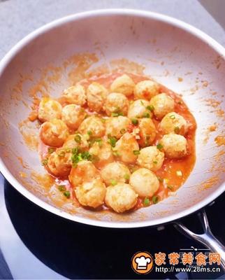 茄汁鸡肉丸的做法图解9