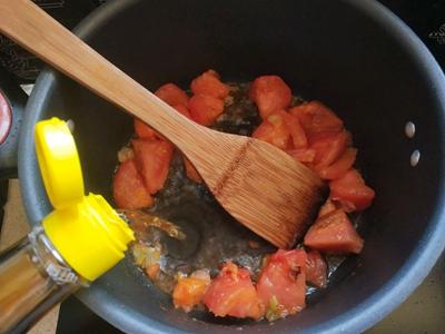 西红柿酸汤肉丸面#父亲节,给老爸做道菜#的做法图解8
