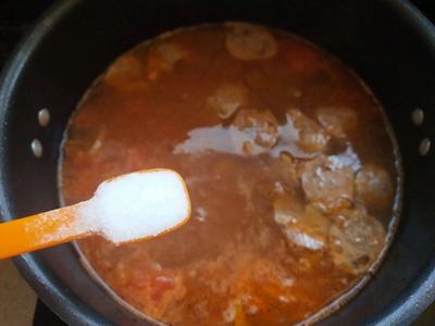 西红柿酸汤肉丸面#父亲节,给老爸做道菜#的做法图解13