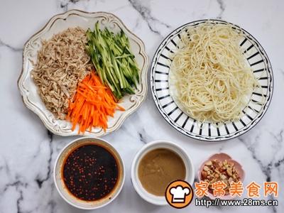 #父亲节,给老爸做道菜#鸡丝凉面的做法图解6