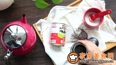 #花10分钟,做一道菜!#丝袜奶茶的做法图解1