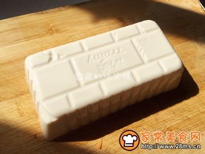 茄汁金银豆腐的做法图解3