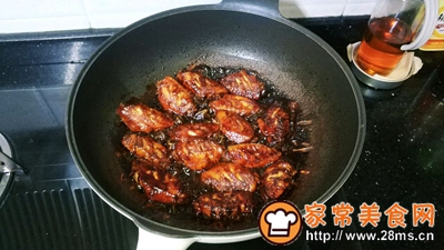 话梅红烧鸡翅#就是红烧吃不腻!#的做法图解7
