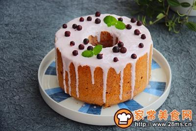 清新美味的黑醋栗酸奶蛋糕的做法图解13