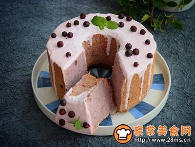 清新美味的黑醋栗酸奶蛋糕的做法图解14