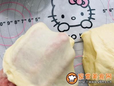 香辣鸡腿汉堡(含面包胚的制作)的做法图解5