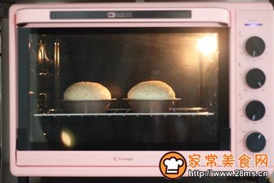 香辣鸡腿汉堡(含面包胚的制作)的做法图解12