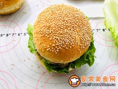 香辣鸡腿汉堡(含面包胚的制作)的做法图解23