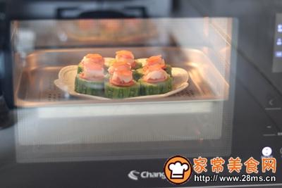 #花10分钟,做一道菜!#苦瓜酿肉的做法图解11