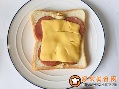 早餐就吃三明治的做法图解4