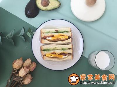 早餐就吃三明治的做法图解7