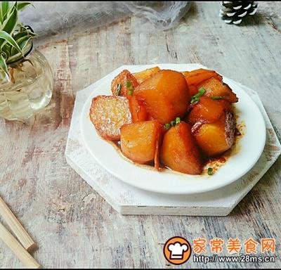 红烧土豆的做法图解10