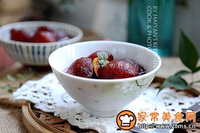 消暑解热零脂肪夏日必吃甜品红酒冬瓜丸的做法图解4