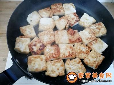 红烧豆腐的做法图解3