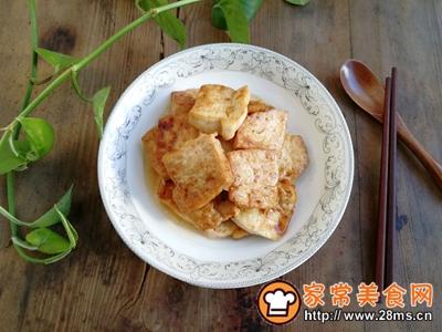 红烧豆腐的做法图解6