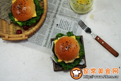 超级柔软汉堡包胚的做法图解7