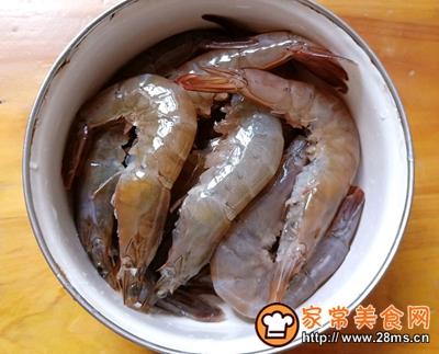 红烧大虾的做法图解2