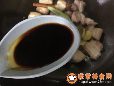 不放油的栗子红烧肉的做法图解8